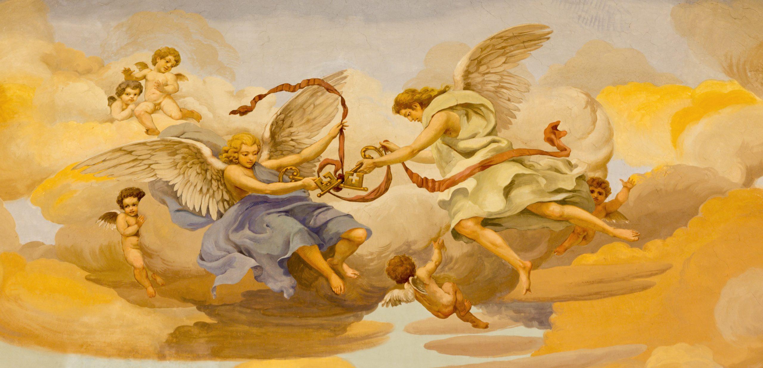 Text über Engel - Titelbild