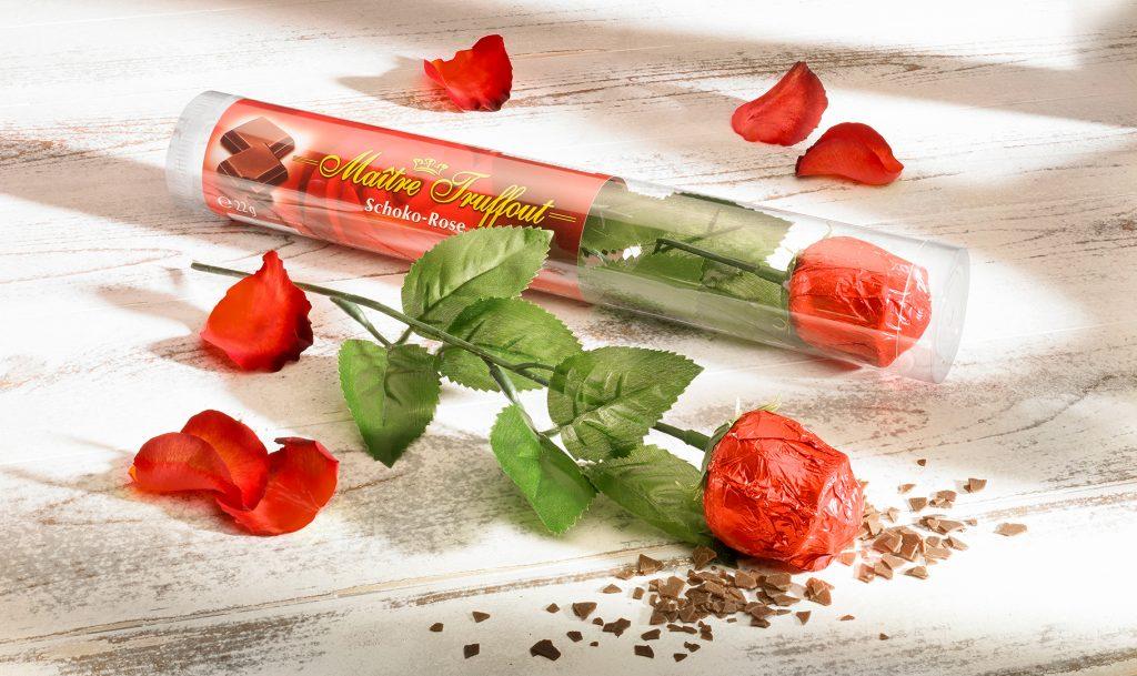 Schokorose zum Valentinstag von Jungborn