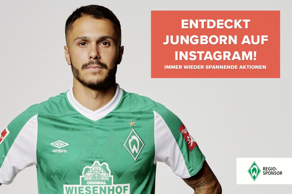 Entdeckt Jungborn auf Instagram - Werder Bittencourt
