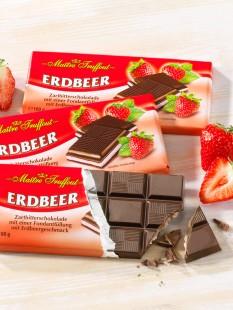 """Zartbitter-Erdbeer-Schokolade """"3 für 2"""""""