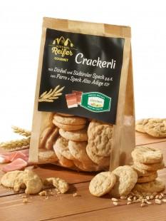 Crackerli mit Südtiroler Speck