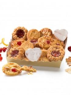 Fruchtige Keks-Mischung