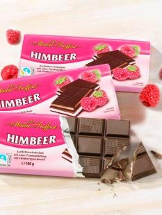 """Zartbitter-Himbeer-Schokolade """"3 für 2"""""""