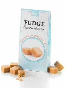 Meersalz-Karamell Fudge