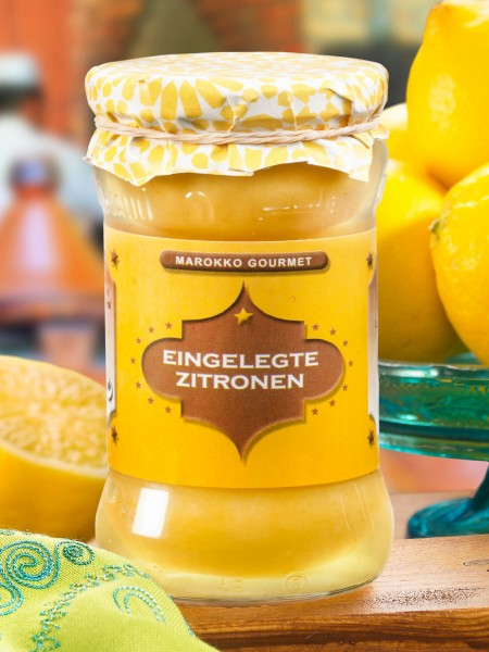 Salz-Zitronen