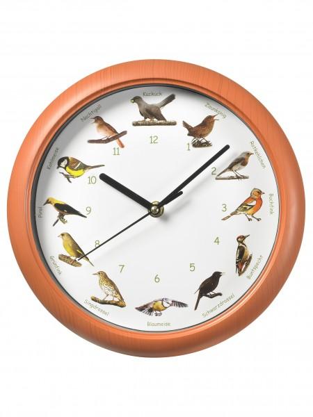 Vogelstimmen-Wanduhr