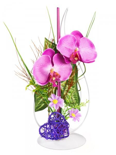 "Gesteck ""Orchideentraum"""