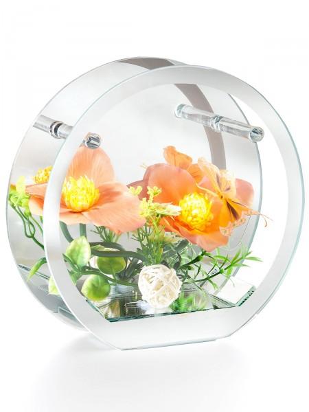 "LED- Spiegelzauber ""Orchidee"""