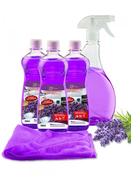 Lavendel-Kraftreiniger, 5-tlg.