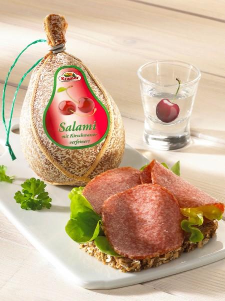 Kirschwasser-Salami