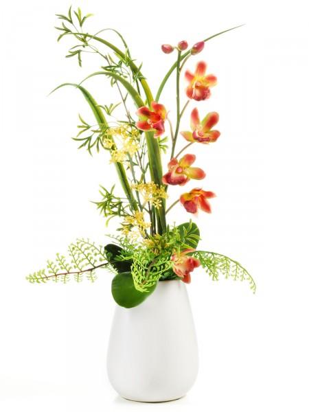 """Keramikvase """"Phalaenopsis-Orchidee"""""""