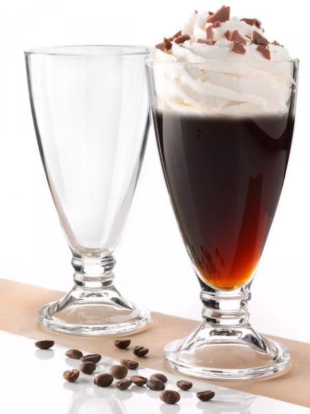 Eiskaffee-Gläser