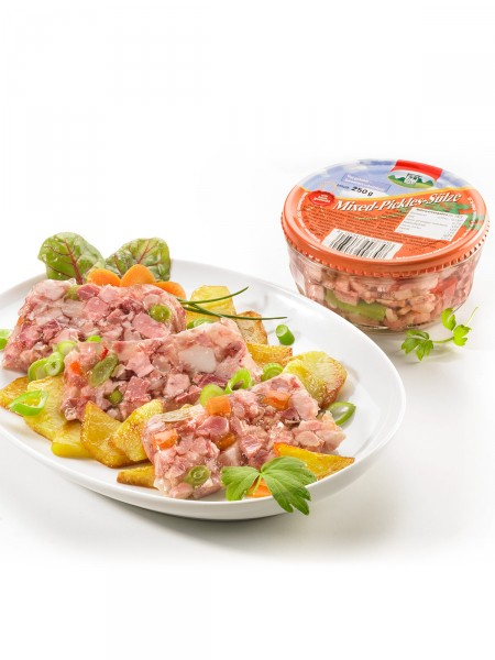 Mixed-Pickles-Sülze