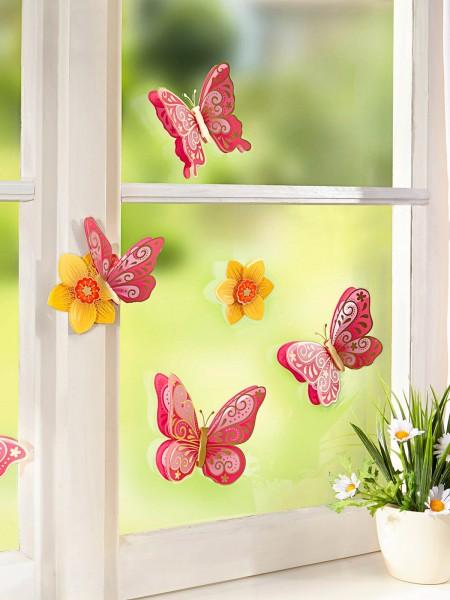 """3D-Fenstersticker """"Schmetterling"""""""