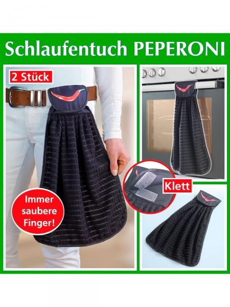 "Küchentuch-Duo ""Peperoni"""