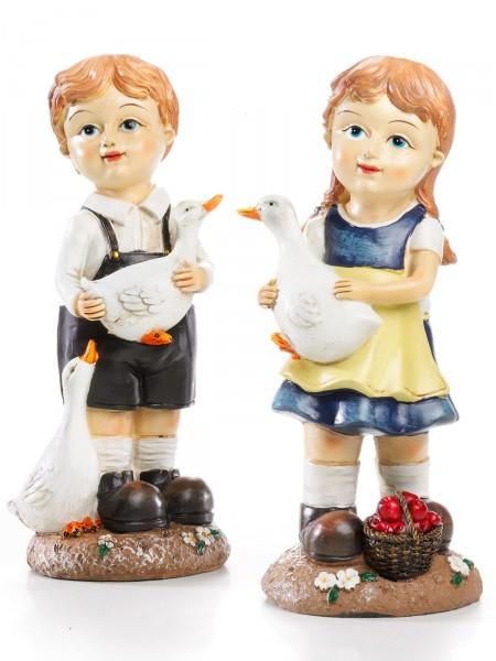 """Gänsekinder """"Liesel & Peter"""""""