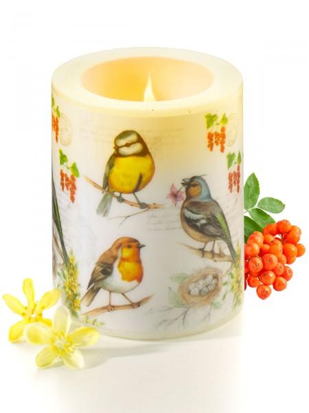 """Kerze """"Vögelchen"""""""