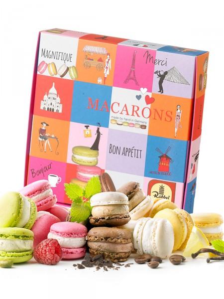 """Präsentpackung """"Macarons"""""""