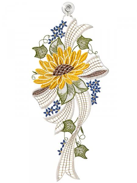 """Fensterbild """"Sonnenblume"""""""