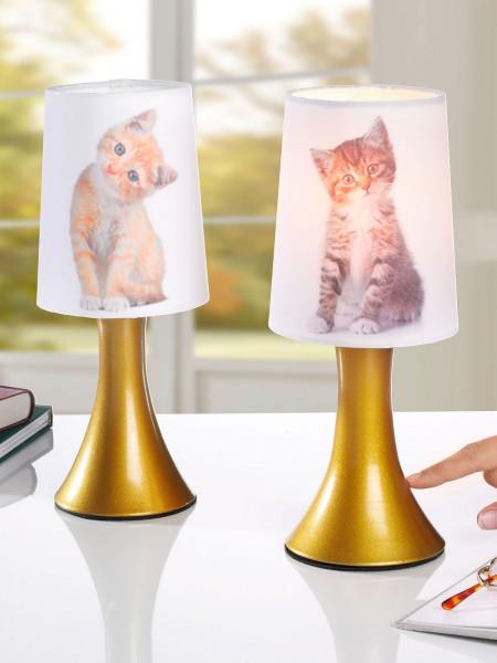 """Berührlampen-Duo """"Katzenbabys"""""""