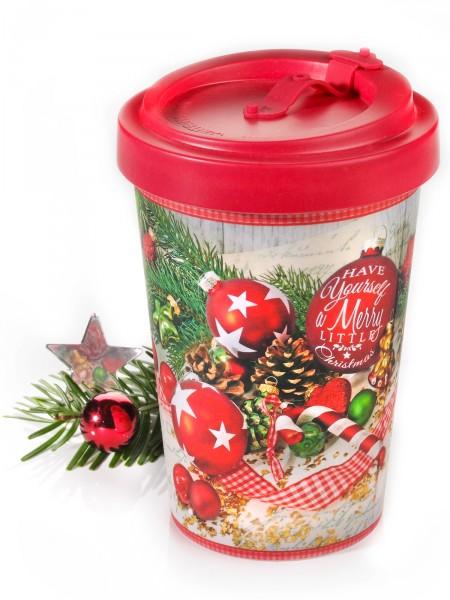 """Deckelbecher """"Weihnachten"""""""