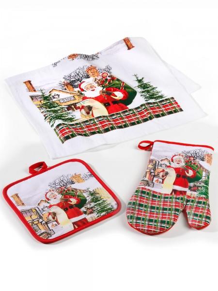 """Küchenset """"Santa"""", 3-tlg."""