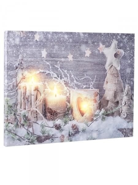 """LED-Bild """"Winterlicht"""""""