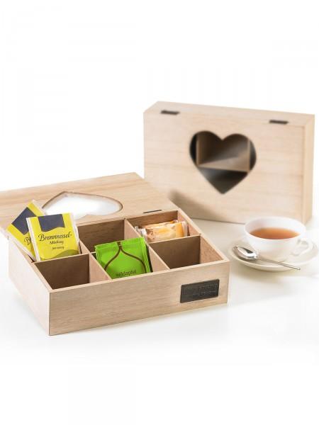 Teebeutel-Aufbewahrungsbox