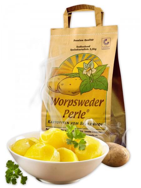 Worpsweder Perle® Linda, vorwiegend festkochend/mehlig