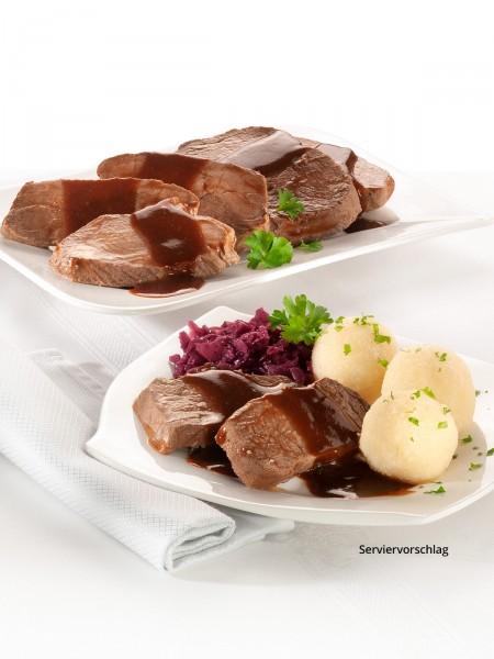 Sauerbraten in Sauce
