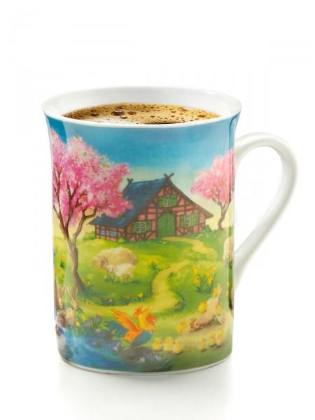 "Kaffeebecher ""Frühlingsglück"""