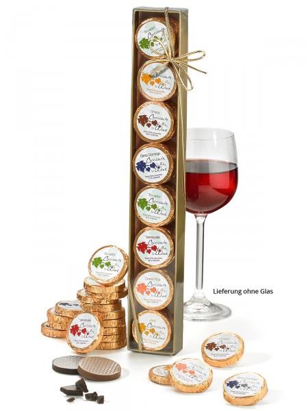 """Goldstange """"Schokolade zum Wein"""""""