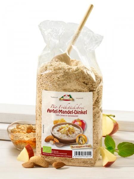 """Bio-Frühstücksbrei """"Apfel-Mandel-Dinkel"""""""