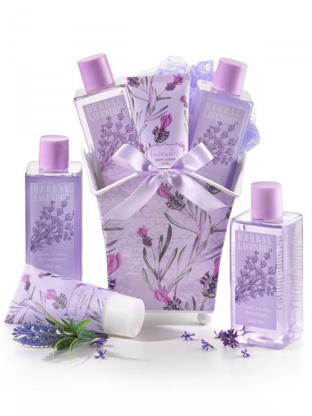 """Kosmetikpräsent """"Lavendel"""""""