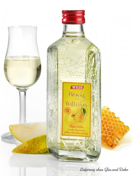 Williamsbirne-Likör mit Honig