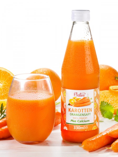 Karotten-Orangensaft