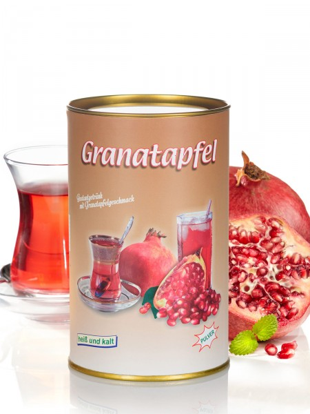 Granatapfel-Tee in Dose