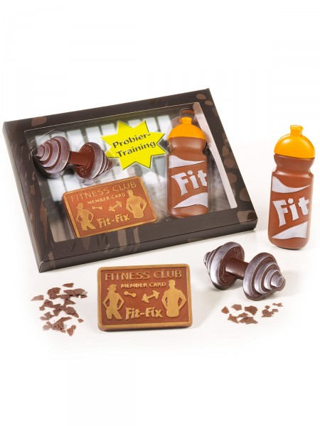 Fitness-Schokoladen-Set