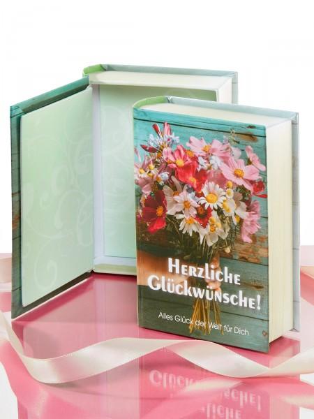 """Geschenkschachtel """"Buch"""""""
