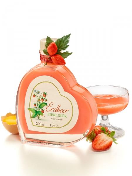 Erdbeer-Eierlikör