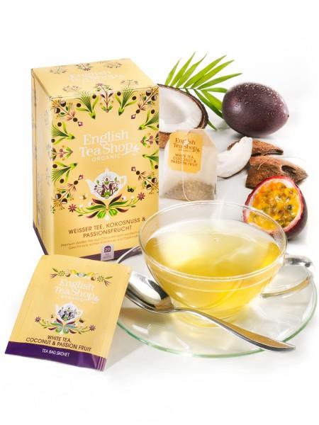 Weißer Tee, Passionsfrucht, Bio
