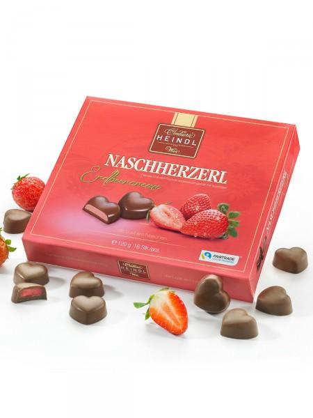 """Naschherzerl """"Erdbeercreme"""""""