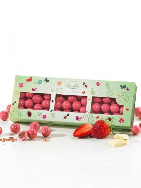 Erdbeer-Knusperkugeln