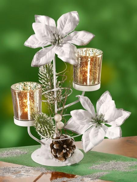 """Teelichthalter """"Weihnachtsstern"""""""