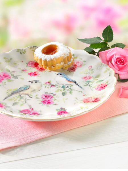 """Dessertteller """"Rosengarten"""""""