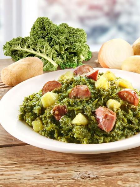 Gourmet Grünkohltopf