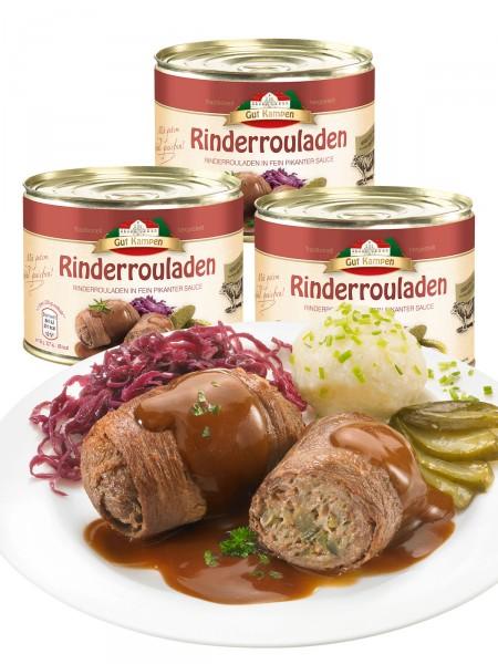 """""""3 für 2"""" Gourmet Rinderrouladen"""