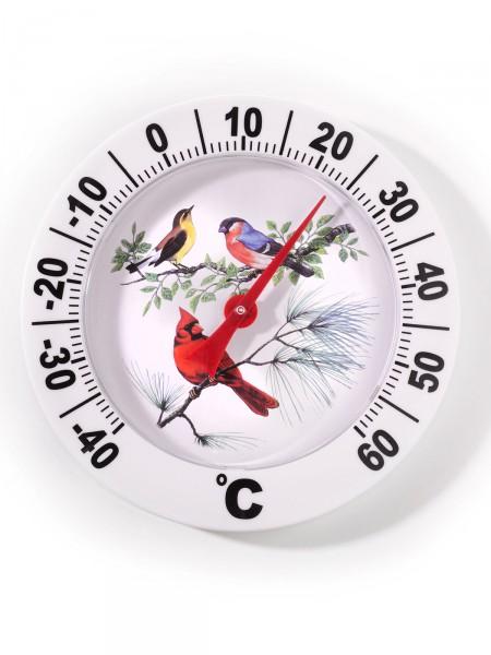 """XXL-Außenthermometer """"Vogelfamilie"""""""