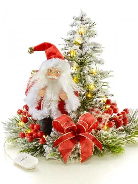 "LED-Gesteck ""Santa"""