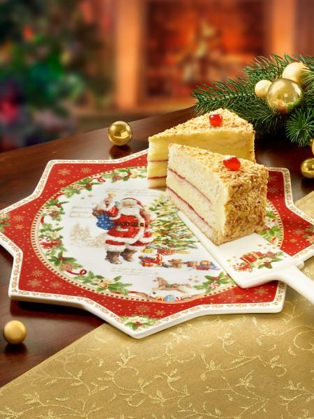 """Tortenplatte """"Santa"""""""